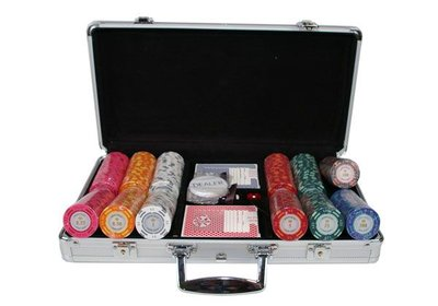 Monte Carlo 300 poker set