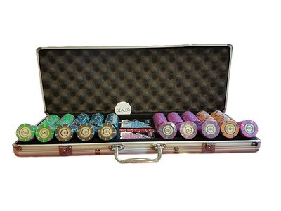 High Roller 500 poker set