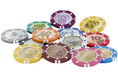Suits Euro pokerchips