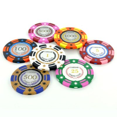 Caeser Poker Club pokerchips