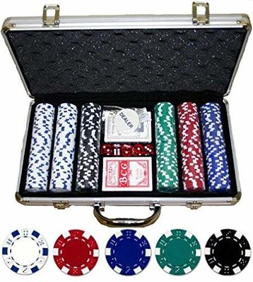 Dice Design 300 pokerkoffer